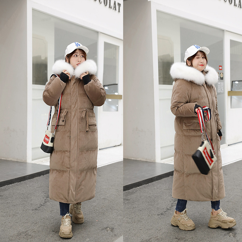 Jacket Size Plus Women White Duck Down Coat Winter Down Jacket Women Jacket Korean Puffer Jacket Casaco 8011 YY1267