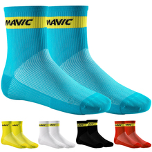 MAVIC Brand Cycling Socks Compression Sport Socks Road Bicycle Socks Outdoor Sports MTB Racing Cycling Bike Socks