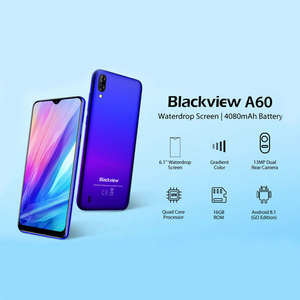 """Image 2 - Blackview A60 Original 6.1"""" Smartphone 19.2:9 Full Waterdrop Screen 4080mAh Android 8.1 Cellphone 1GB+16GB 13.0 MP Mobile Phone"""