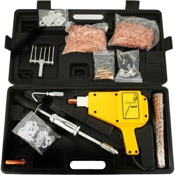 1600A outils de réparation de Dent de carrosserie soudeuse par points Kit de soudage de pistolet extracteur de Dent avec plus d'accessoires Mini ensemble de soudeuse par points