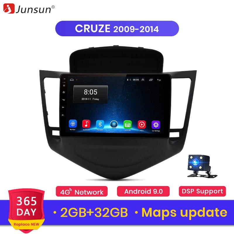 Junsun V1 2G+32G Android 9.0 For Chevrolet CRUZE Mk2/Mk3 2009-2014 Car Radio Multimedia