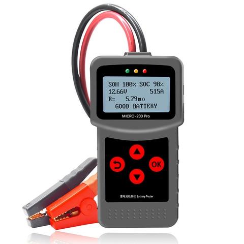 New Alternator Tester Motorcycle Battery Tester Motorbike Car Battery Tester for Lancol Voltage Test Automotive for 12V Pakistan