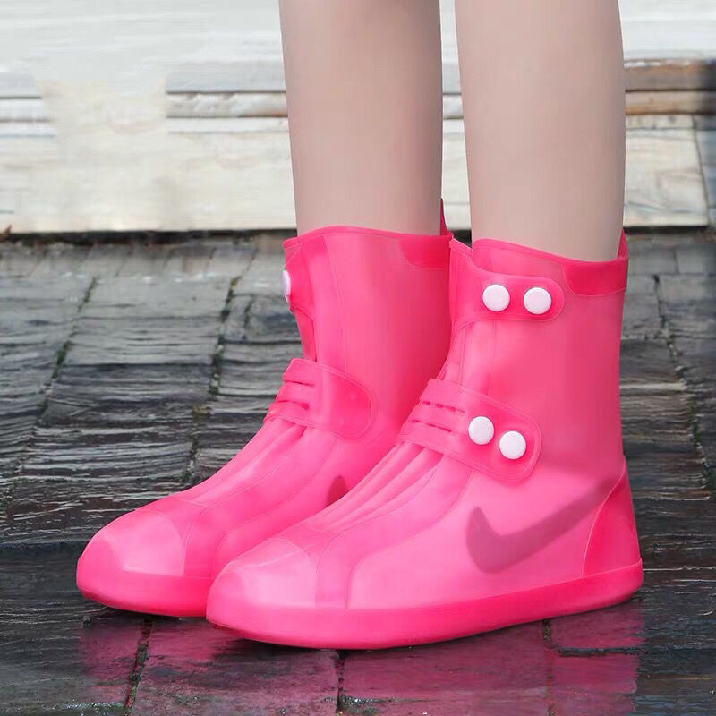 Waterproof Protector Shoes Boot Cover Reusable Shoes Covers Thicker Non-slip Platform Rain Boots