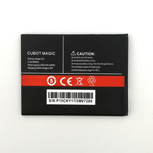 2pcs NEW Original 2600mAh CUBOT MAGIC battery  for High Quality Battery+Tracking Number