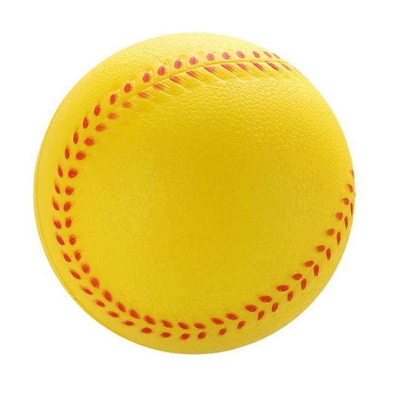 New 1Pcs Universal Handmade Baseballs Upper Hard & Soft Baseball Balls Softball Ball Training Exercise Baseball Balls