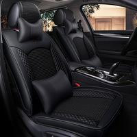 2019 Beijing Car Saab Chi Heng Car Seat Cover Four Seasons Universal All Surrounded Viscose Leather Fashion Seat Cushion