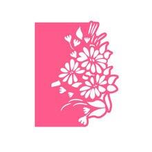YaMinSanNiO Flower Metal Cutting Dies Border Lace Edge Stencils for DIY Scrapbooking Embossing Die Cuts Card Making