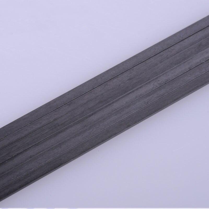 5PCS 2mm-8mm Dia Carbon Fiber Rod Hollow Round Tube Bar Shaft Für RC Flugzeug