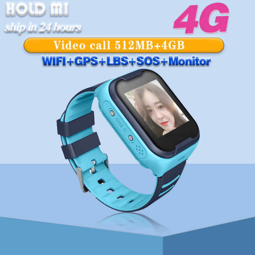 New Kids Smart Watch 4G GPS WIFI Camera Kids Phone Position Children Watch Touch Screen SOS Smart Baby Watch Android IOS Phone