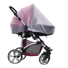 "New Stroller Pushchair Mosquito net 1PC 150cm/59"" Baby Crib Seat Mosquito Net New Born Curtain Car Seat Insect Netting Canopy(China)"