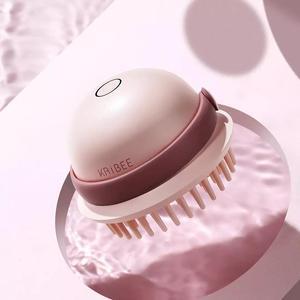 Image 4 - Kribee חשמלי עיסוי מסרק עמיד למים רטוב יבש כפולה שיער טיפול קרקפת אנטי סטטי מסרק נטענת שיער מברשת שיער בריאות