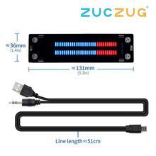 VHM 902 Mini çift 30 seviye göstergesi VU metre Stereo amplifikatör kurulu ayarlanabilir ışık hız kartı AGC modu Diy kitleri