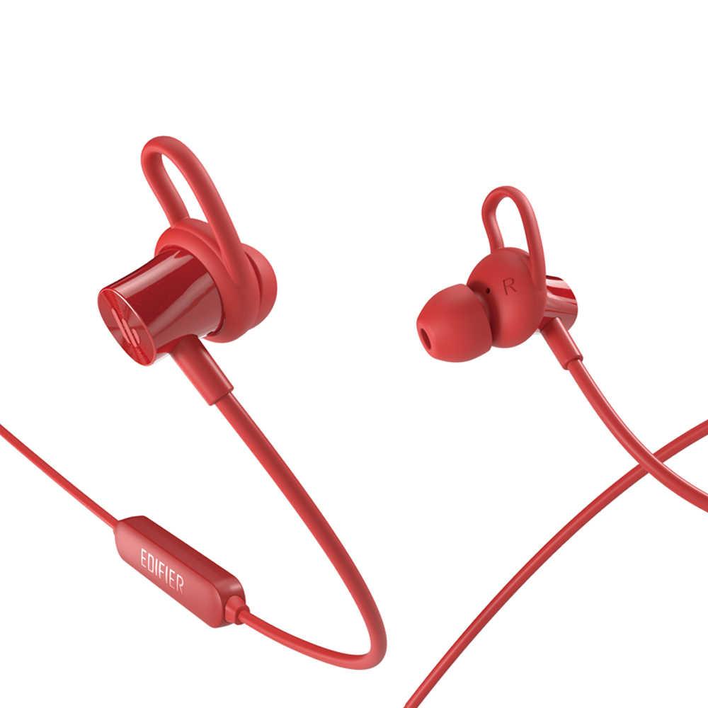 EDIFIER W200BT Bluetooth V5.0 bezprzewodowa Bluetooth Słuchawki sportowe wiszące szyi długi czas czuwania IPX4