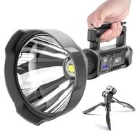 XHP50/XHP90 poderosa linterna LED Super brillante portátil focos reflector a prueba de agua USB antorcha 8000 Lumen Dropshipping. Exclusivo.