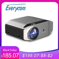 Everycom-Proyector YG620 3600L para cine en casa, Proyector YG621, Full HD, 1080P, inalámbrico, WiFi, pantalla múltiple, HDMI, VGA, USB