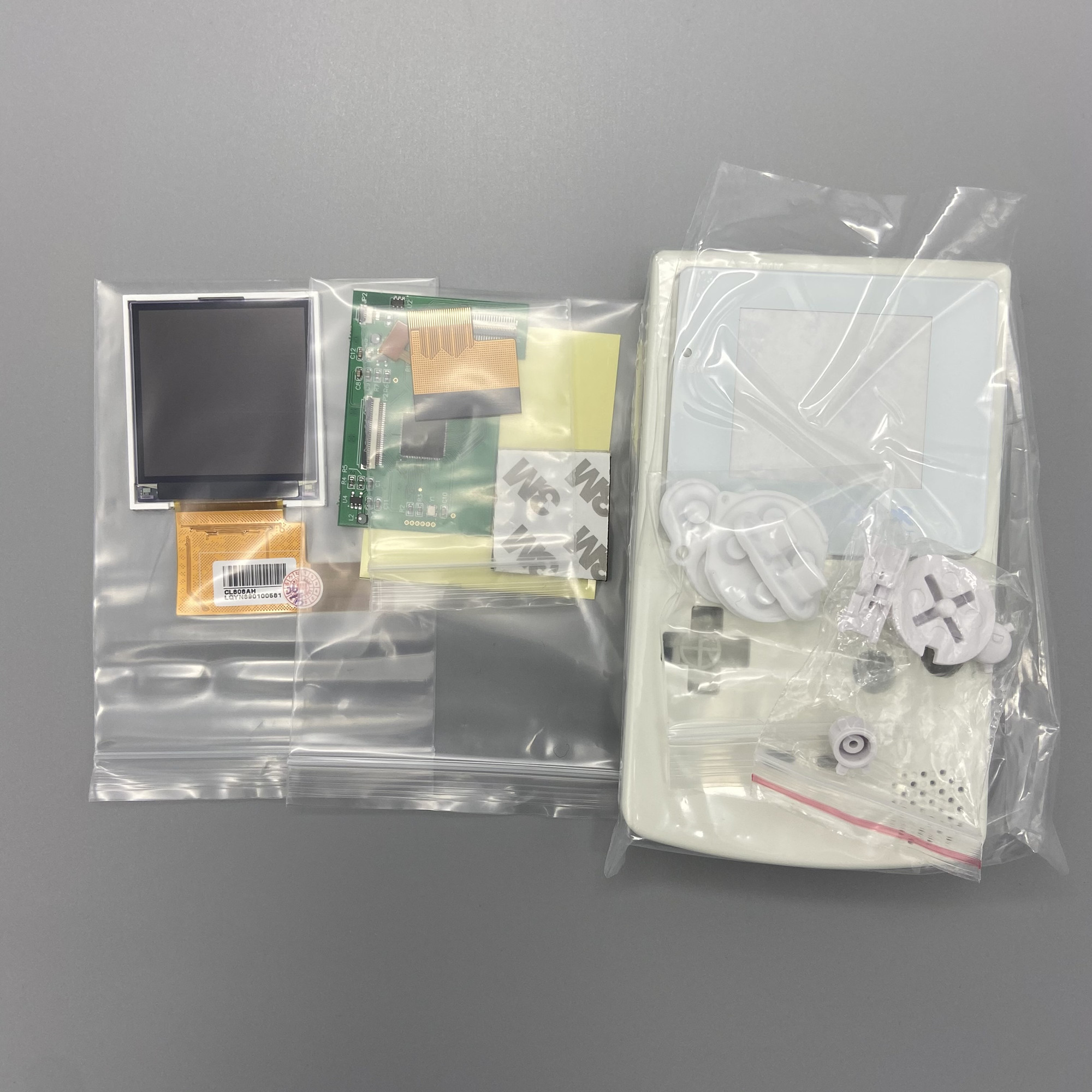 2.2 inches GBC high brightness LCD and new shell for Gameboy Color,GBC LCD screen