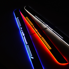 LED Door Sill for Audi A4 Allroad 8WH B9 2016 2020 8KH B8 2009   2016 Door Scuff Plate Pathway Welcome Light Car Accessories