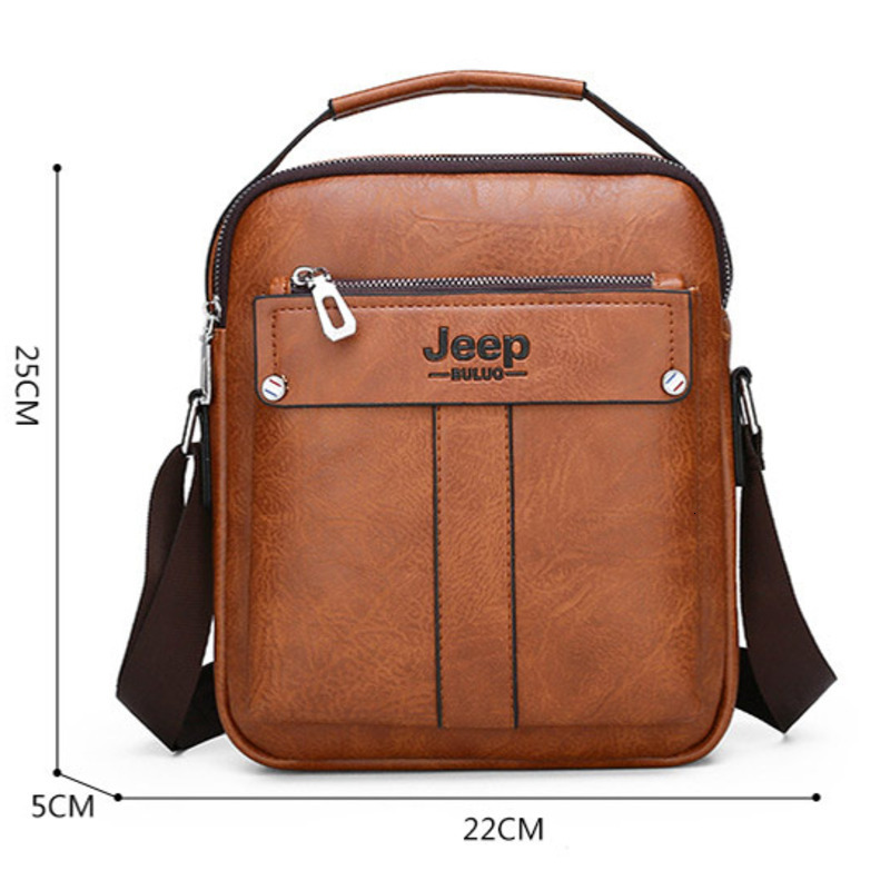 Men Small Leather Briefcase Male Handbags New Shoulder Bags For Man Messenger Crossbody Bag Male Business Handbag Bolso Hombre