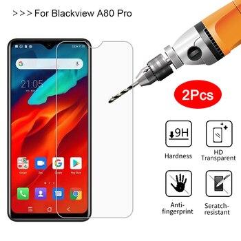 Перейти на Алиэкспресс и купить 2 шт закаленное стекло для Blackview A80 Pro Защитная пленка для экрана Защитная пленка для Blackview A80 A 80 Pro 6,49 дюймСтекло></noscript><img class=