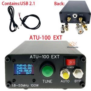 Image 2 - Hisonauto ATU 100 ATU100 DIY أطقم 1.8 50MHz التلقائي هوائي موالف بواسطة N7DDC مع OLED الثابتة مبرمجة و SMT رقاقة ملحوم
