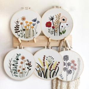Embroidery DIY Beginner Materi