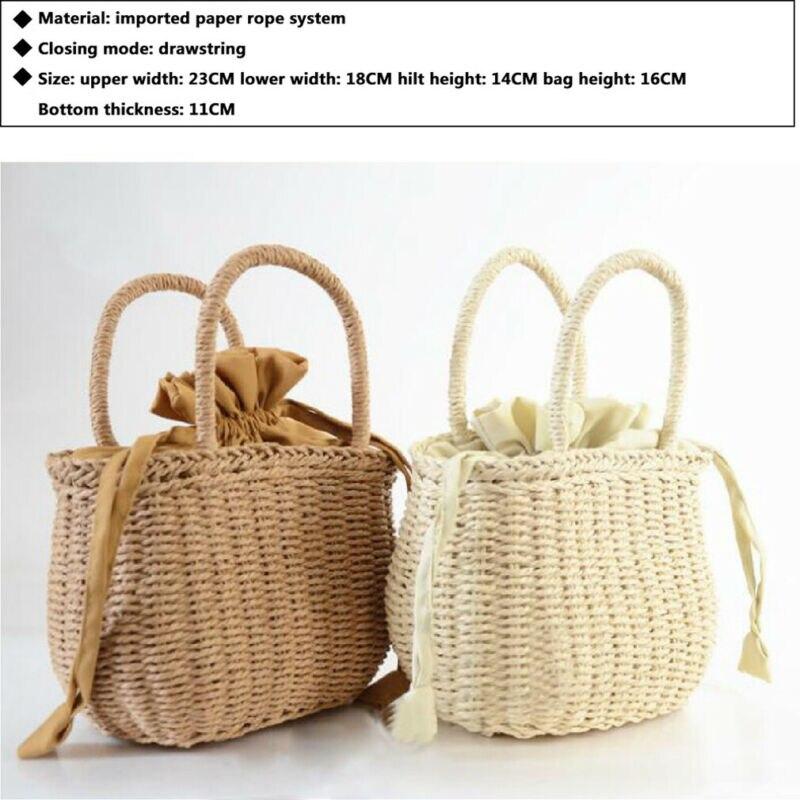 Straw Boho Bag 10