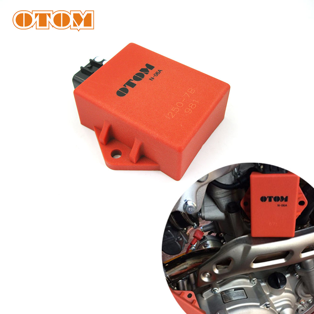 OTOM Motorcycle Unlimited Speed Igniter Start CDI Device Ignition Trigger For ZONGSHEN Engine NC250 KAYO T6 BSE J5 Valve Parts