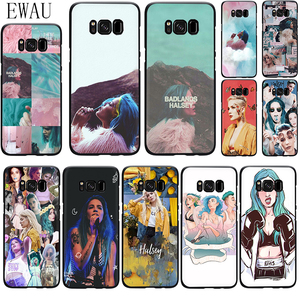 EWAU Halsey Colors Lyrics Badlands Silicone phone case for Samsung S6 S7 Edge S8 S9 S10 Note 8 9 10 plus S10e M10 M20 M30 M40(China)