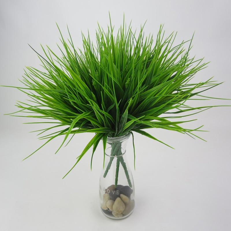 Искусственные папоротники 7 голов 98 листьев растение украшение дома комнаты нетоксичные