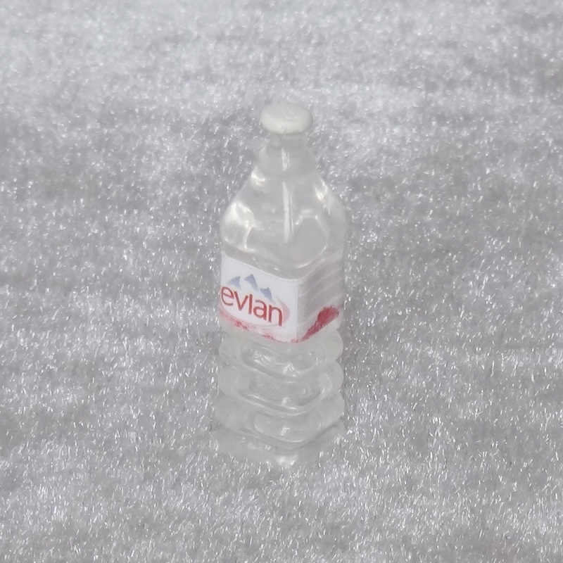 5pcs Cute Dollhouse Mineral Water bottle Toy Doll Food Kitchen Living Room Accessories Kids Gift Pretend Play Miniature Toys