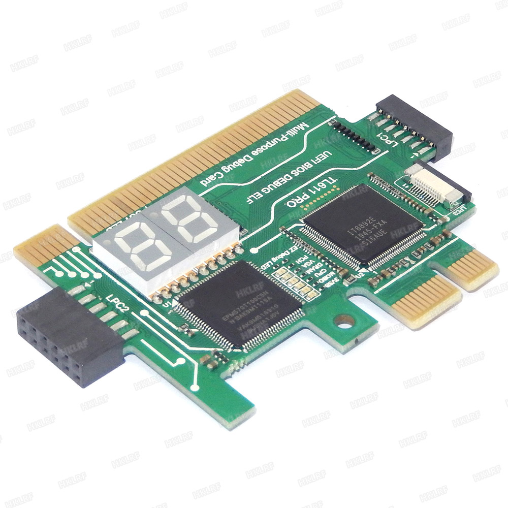 TL460S PLUS Universal PC PCI PCI-E miniPCI-E LPC MB Diagnostic Test Debug Cards