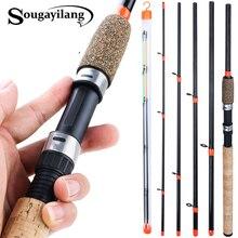 Sougayilang 3m tige dalimentation L M H puissance canne à pêche ultraléger poids 6 Section carbone filature canne De voyage matériel De pêche Pesca