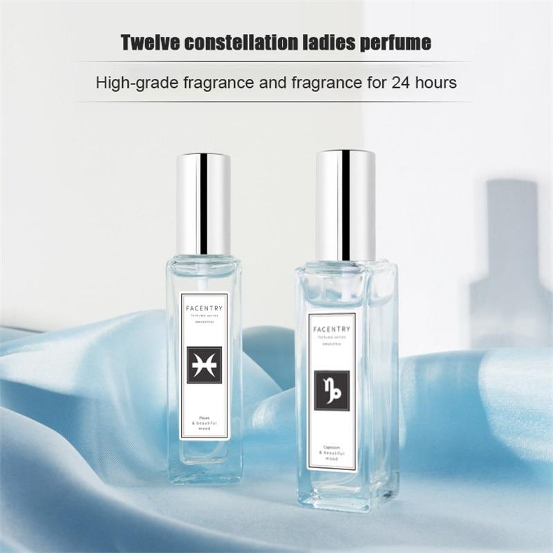 Twelve Constellation Perfume Portable Pure Simple Fresh Long Lasting Elegant Refreshing Fragrance 20 Ml New