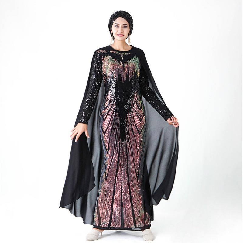 Summer Autumn Blue Dots Elasticity Women/'s Slimming Long Dress Cheongsam S-2XL