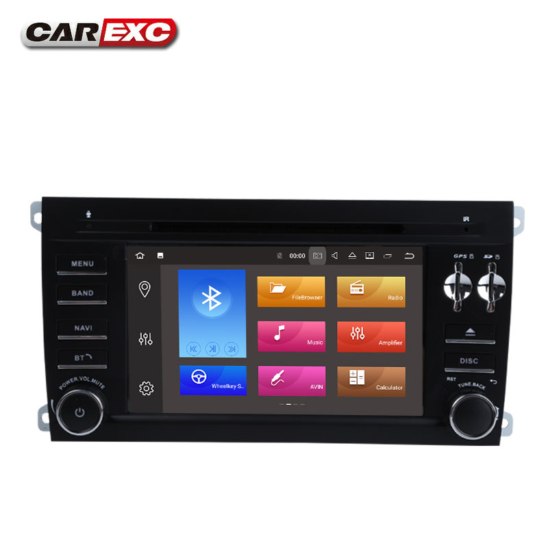 Best Android 9.0 Octa Core  Car DVD Player Stereo System For Porsche Cayenne With Canbus Wifi GPS Navigation Radio Carplay 2