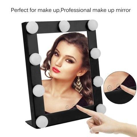 cosmetico portatil touch screen espelhos ferramenta