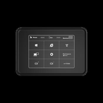 Touch panel Quad Cores Mini PC Intel Celeron J3455 Windows 10 4K HTPC with 6GB LPDDR3L 128GB SSD Mini HD-MI Dual Band WiFi BT