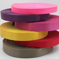 5M 20-50mm Rot Gelb Weiß Strap Nylon Gurtband Fischgräten Muster Rucksack Umreifung DIY Nähen Tasche Gürtel zubehör Pet gürtel