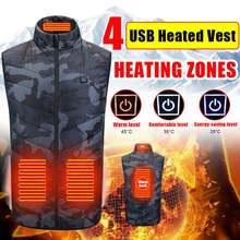 4 зоны нагрева жилет usb зарядка Термальность изоляции Отопление
