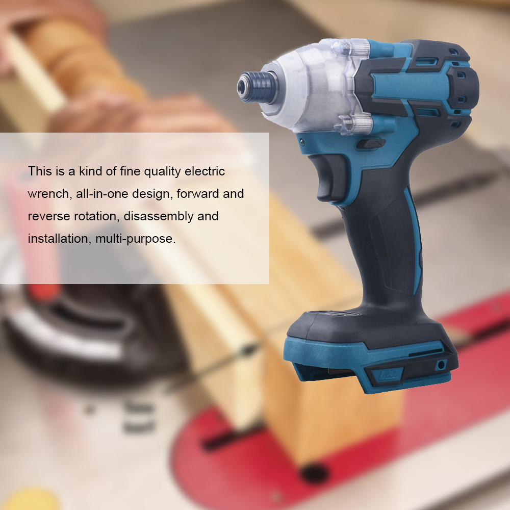 High Wrench Brushless Impact Wrench Driver Screw Wrench Brushless Cordless 18V Motor Impact Power Tool Torque M Electric 650N