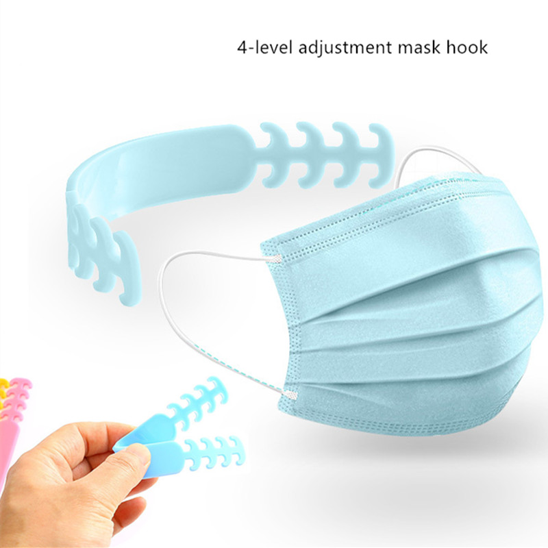 2020 1/3/7PCS Adjustable Mask Lanyard Relieves Ear Pain Prevention Scratches Bandage Mask Hook Ear Rope Mask Extension Belt