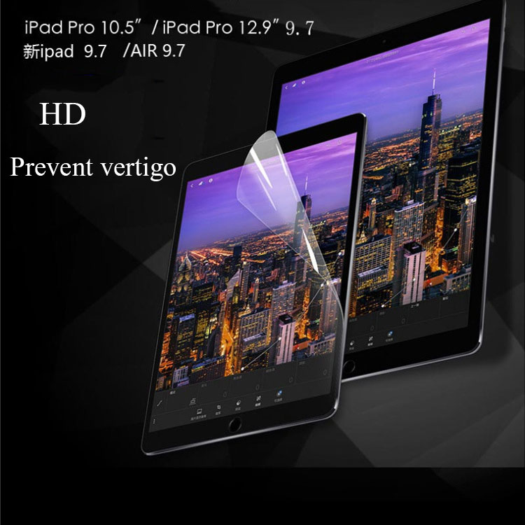 Matte Screen Protector For Ipad 2 3 4 Air 12 Pro 7.9 9.7 10.5 2017 2018 2019 Mini 1 2 3 4 5 PET Protective Film For Apple Ipad