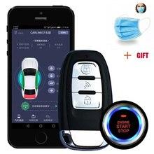 Universel Remote Start Car Alarm System Shock Sensor 80-100