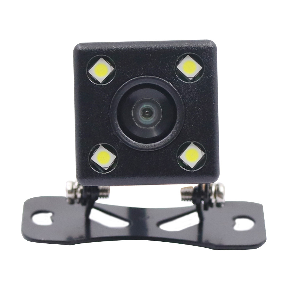 4 Lamp Webcam High-definition Forward-Looking Rear View Plug-Supplementary Lighting For Night Vision Car Mounted Reverse Image C