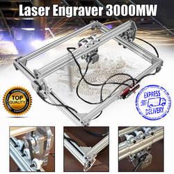 50*65 см мини 3000 МВт синий лазерная гравировка гравер машина DC 12 В DIY настольный по дереву резак/принтер/мощность регулируемый + Лазерные очки