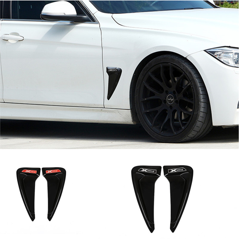 Car Styling X <font><b>Drive</b></font> <font><b>Emblem</b></font> for <font><b>BMW</b></font> X5 X1 X2 X3 X4 X6 Shark Shape Side Fender Decal Decoration 3D ABS Car Stickers Accessories image