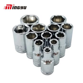 14 sztuk 1 4 #8222 napęd zestaw gniazd sześciokątnych Cal 3 16 1 4 9 32 5 16 11 32 3 8 13 32 15 32 7 16 1 2 17 32 9 16 klucza dynamometrycznego klucz głowy otworzyć nakrętka narzędzie do usuwania tanie i dobre opinie MING YU CN (pochodzenie) Stal z chromu-wanadu Demontowalne Wielofunkcyjny MYHJ-136 Klucz nasadowy inch socket set 1 4 inch