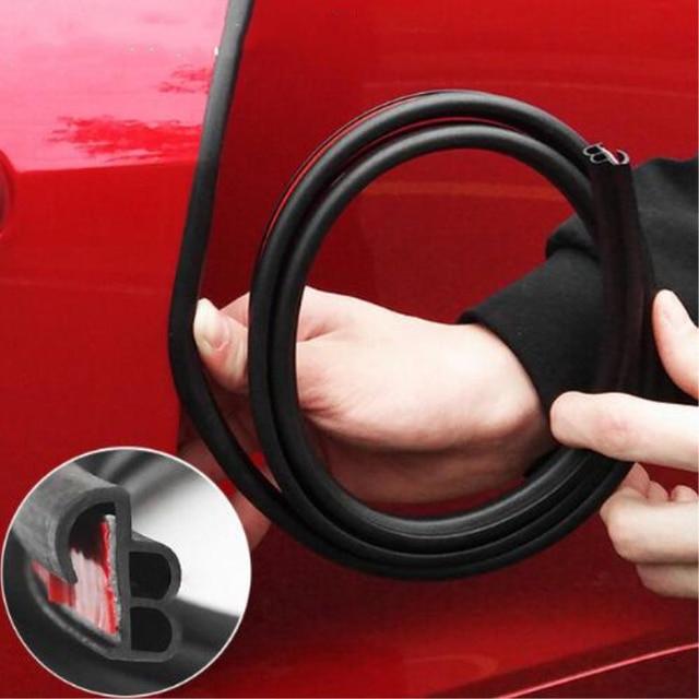 Car Door Edge Scratch Protector Strips Auto Stickers Seal Door Mouldings Universal Interior Accessories Styling Sealing strips