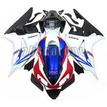 Pieno Carenature Per Honda CBR1000RR 2006 2007 CBR 1000RR 06 07 Plastica ABS Moto Ad Iniezione Cowlings Bianco Blu Nero Carenes(China)