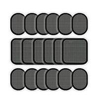 Сменные гелевые накладки для брюшного Abs тонер ядро Abs тренировки тонизирующий пояс 6 комплектов
